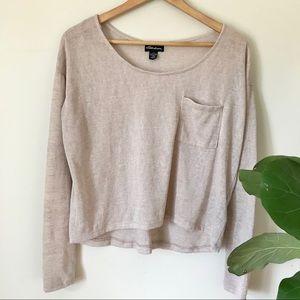 Seductions | Light Long Sleeve Shirt High Low